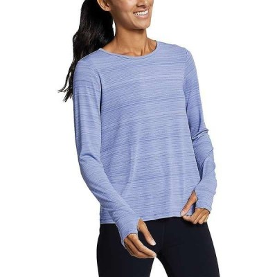 エディー バウアー レディース シャツ トップス Eddie Bauer Motion Women's Trail Light Tie Back Shirt