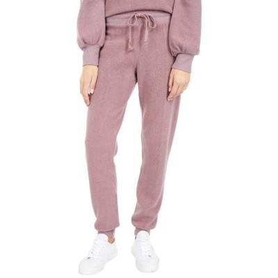 エルエーメイド レディース パンツ Slim Plush Modal Fleece Sweatpants