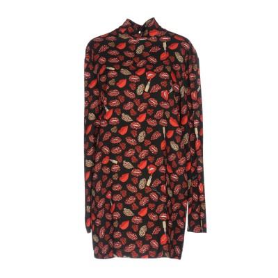 ジャストカヴァリ JUST CAVALLI ミニワンピース&ドレス ブラック 42 レーヨン 97% / ポリウレタン 3% ミニワンピース&ドレス