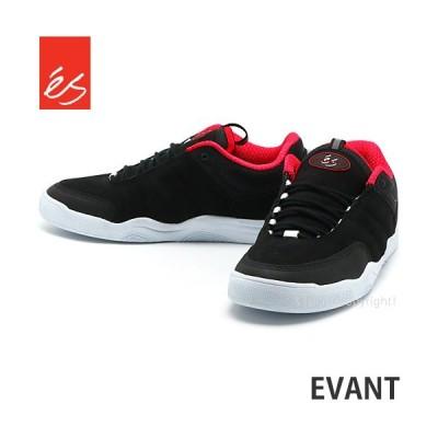 エス エバント eS EVANT スニーカー シューズ 靴 スケシュー メンズ 男性 スケートボード スケボー ストリート パーク カラー:BLACK
