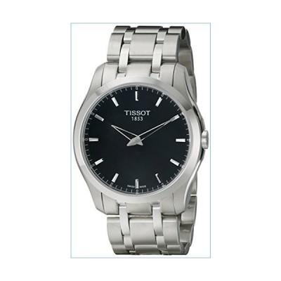 Tissot Men's T0354461105100 Couturier Analog Display Swiss Quartz Silver Watch並行輸入品