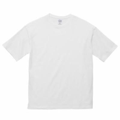 Tシャツ 半袖 メンズ ビッグシルエット 5.6oz L サイズ ホワイト 無地 ユナイテッドアスレ CAB