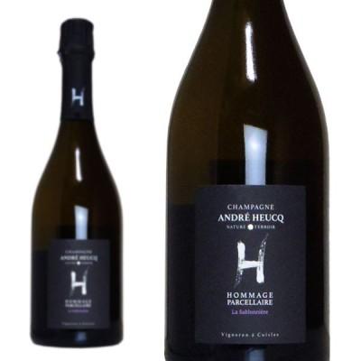 シャンパン  アンドレ・ユック  ナチュール  オマージュ  パルセレール  ラ・サブロニエール  2013年  750ml  (フランス  シャンパーニュ  白  箱なし)