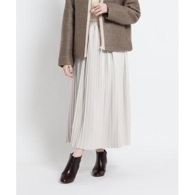 WORLD ONLINE STORE SELECT / 【CLASSY.12月号掲載】マイクロコーデュロイ プリーツスカート WOMEN スカート > スカート