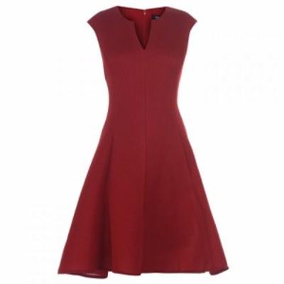 ディーケーエヌワイ DKNY Occasion レディース ワンピース ワンピース・ドレス Mesh Panel Dress SCARLET