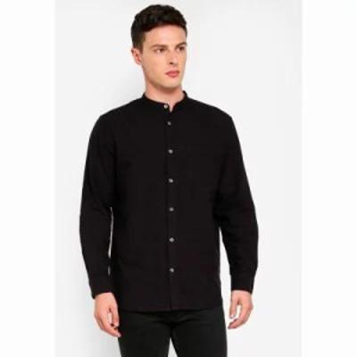 フレンチコネクション シャツ Overdyed Oxford Shirt Utility Blue