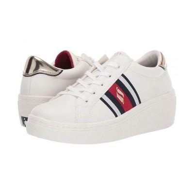SKECHERS Street レディース 女性用 シューズ 靴 スニーカー 運動靴 Goldie Hi - Hi Collegiate Cruiz - White/Red/Navy