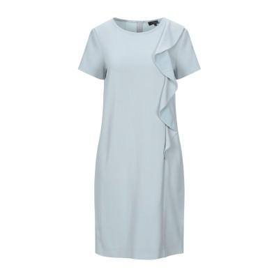 ANTONELLI ミニワンピース&ドレス ライトグリーン 42 シルク 100% / ポリエステル / ポリウレタン ミニワンピース&ドレス