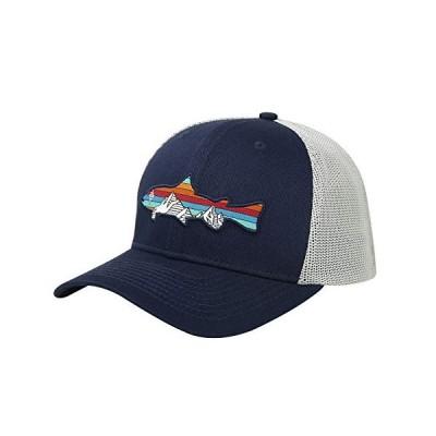 HDE 釣り用帽子 メンズ 柔軟フィット メッシュ アウトドア パフォーマンス フィットキャップ US サイズ: Large-X-Large カラー: