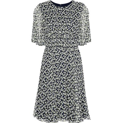 ジェイソン・ウー JASON WU ミニワンピース&ドレス ブルー 6 シルク 100% ミニワンピース&ドレス