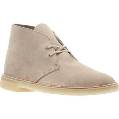 クラークス CLARKS メンズ ブーツ シューズ・靴 Originals 'Desert' Boot Sand/Beige Suede