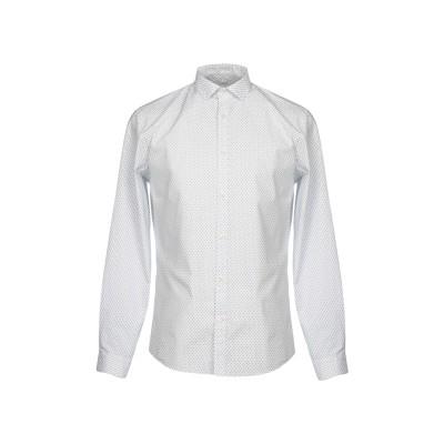 PREMIUM シャツ ホワイト 46 コットン 100% シャツ