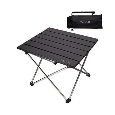 全国送料無料!Portable Camping Table, Collapsible Beach Table Folding Side Table Aluminum Top with Carry Bag for Outdoor Cooking, Hik