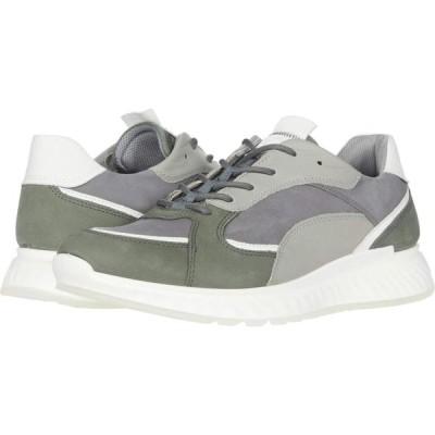 エコー ECCO メンズ スニーカー シューズ・靴 ST1 Trend Sneaker Lake/White/Titanium/Wild Dove