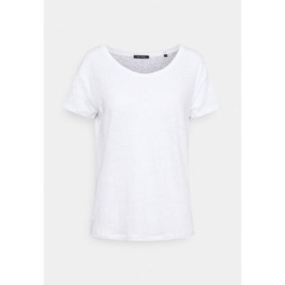 マルコポーロ Tシャツ レディース トップス Basic T-shirt - white