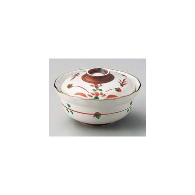 和食器 ホ103-167 花型はなやぎ円菓子碗(渕サビ・小)