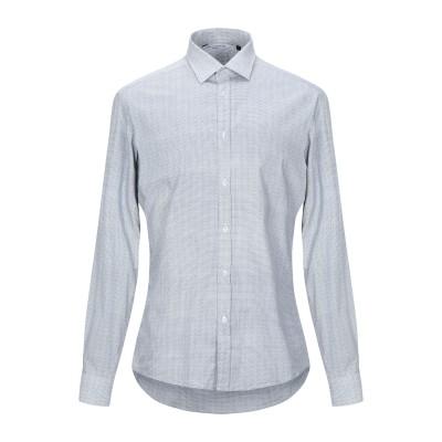 DE CURTÎS シャツ ホワイト L コットン 97% / ポリウレタン 3% シャツ