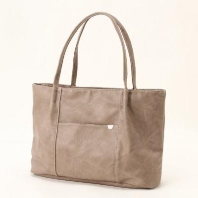 バッグ カバン 鞄 レディース 機能充実◎A4対応トートバッグ カラー 「オーク」