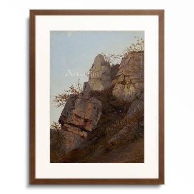 Johann Christian Heerdt 「Rocks. 1837」