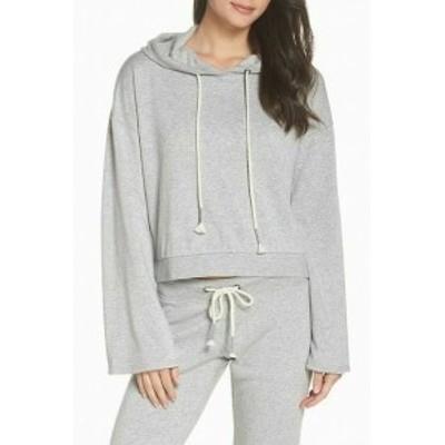 Make + Model メイクアンドモデル ファッション トップス Make + Model NORDSTROM Womens Sweater Size XL Gray Long Sleeve Hooded 322