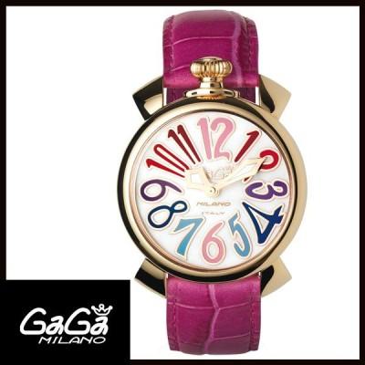 5021.1 GAGA MILANO ガガミラノ MANUALE 40MM GOLD PLATED レディース腕時計 国内正規品 送料無料