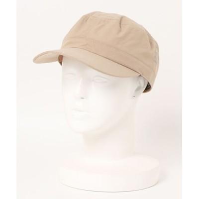JEANS MATE / 【OUTDOOR PRODUCTS】撥水ワークキャップ ワンポイントブランドロゴ MEN 帽子 > キャップ