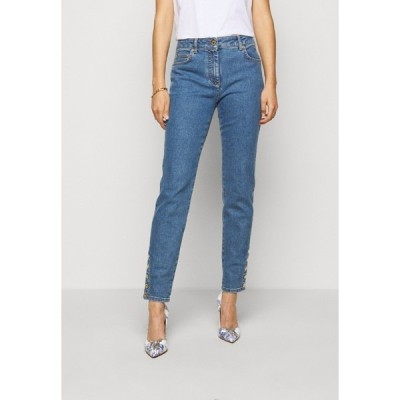 モスキーノ デニムパンツ レディース ボトムス Slim fit jeans - blue