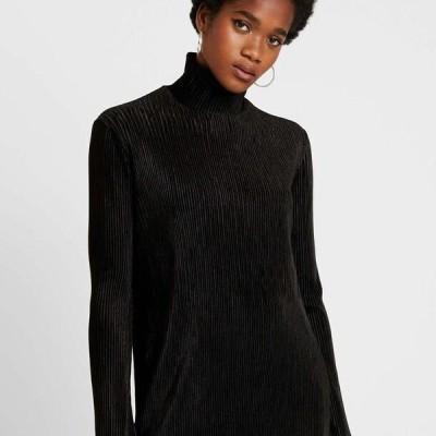 ウイークデイ レディース ジャージドレス ADA DRESS - Jersey dress - black