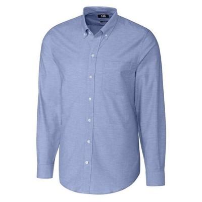カッターアンドバック メンズ シャツ トップス Big & Tall Stretch Oxford Long-Sleeve Woven Shirt