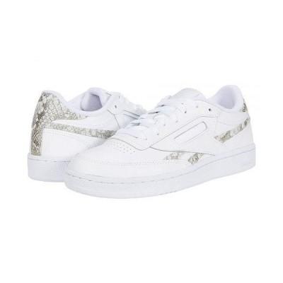 Reebok Lifestyle リーボック レディース 女性用 シューズ 靴 スニーカー 運動靴 Club C 85 - White/Alabaster/White