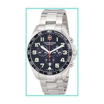 Victorinox Fieldforce Chronograph Quartz Blue Dial Men's Watch 241857【並行輸入品】