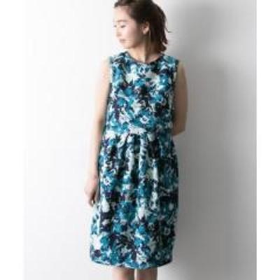 アーバンリサーチCOUTURE MAISON 花柄プリントジャガードドレス【お取り寄せ商品】