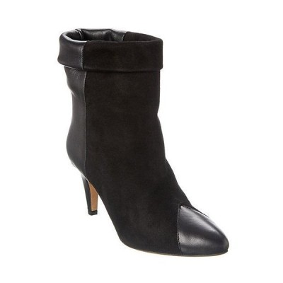レディース シューズ  Isabel Marant Suede & Leather Ankle Boot