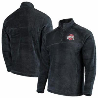 J America Sportswear ジェイ アメリカ スポーツウェア スポーツ用品  Ohio State Buckeyes Charcoal Fleece Pullover Jacket