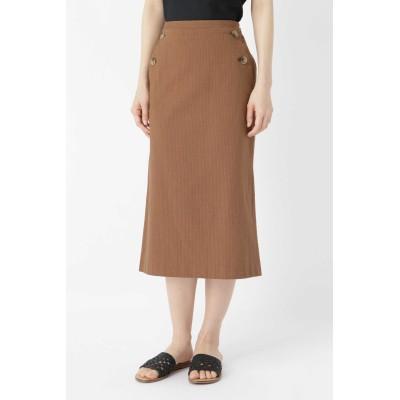HUMAN WOMAN 後染めサッカードビースカート