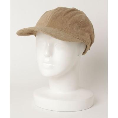 PR01. / THING FABRICS TF Cap Short Pile (TFOT-1025) MEN 帽子 > キャップ
