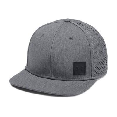 アンダーアーマー メンズ Under Armour SuperVent Flat Brim 2.0 Cap Headwear キャップ 帽子 Black