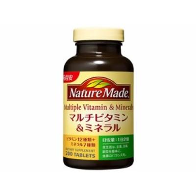 ネイチャーメイド マルチビタミン&ミネラル 200粒 大塚製薬