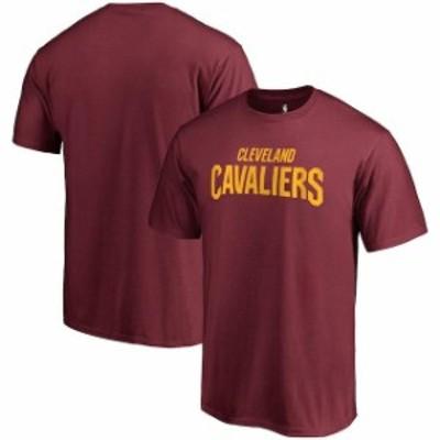 Fanatics Branded ファナティクス ブランド スポーツ用品  Fanatics Branded Cleveland Cavaliers Wine Primary Wordmark T-Shirt