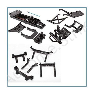 TRAXXAS Bigfoot Chassis Black 3622 and Body MOUNTS Towers Also FITS The Skully, CRANIAC, and 2WD Stampede.【並行輸入品】