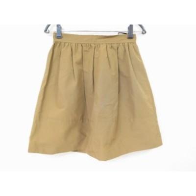 エストネーション ESTNATION スカート サイズ38 M レディース 美品 ブラウン【中古】