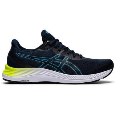 アシックス シューズ メンズ ランニング ASICS Men's Excite 8 Running Shoes Navy/Dark Green