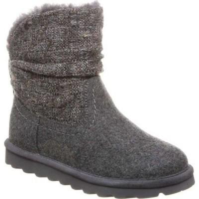 ベアパウ Bearpaw レディース ブーツ シューズ・靴 Virginia Bootie Gray II/Wool Knit