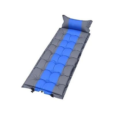 特別価格Self Inflating Camping Mat with Air Pillow,Lightweight Sponge Sleeping Matt好評販売中