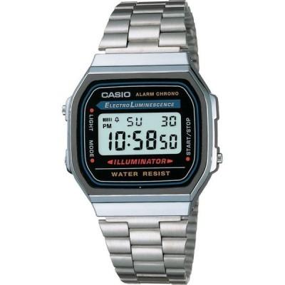 カシオ レディース 腕時計 アクセサリー Unisex Digital Stainless Steel Bracelet Watch 32mm