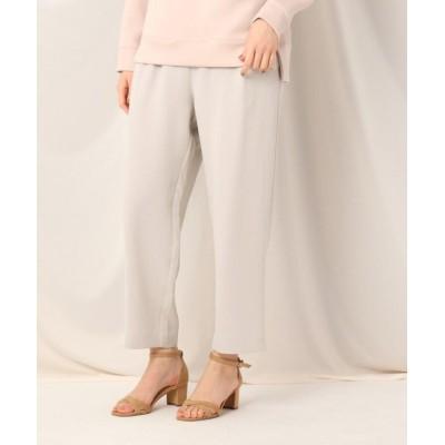 【クチュールブローチ】 アセテートポリエステルイージーパンツ レディース ライト グレー 36(S) Couture Brooch
