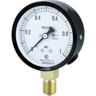 【メーカー在庫あり】 AC20-131-1.6MP AC201311.6MP 長野計器(株) 長野 普通形圧力計(A枠立形・φ75・G3/8B・0.0〜1.60Mpa) JP