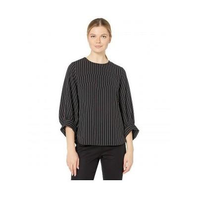 Karen Kane カレンケーン レディース 女性用 ファッション ブラウス Blouson Sleeve Top - Stripe