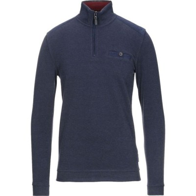 テッドベーカー TED BAKER メンズ スウェット・トレーナー トップス sweatshirt Dark blue