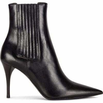 イヴ サンローラン Saint Laurent レディース ブーツ ブーティー シューズ・靴 lexi elastic booties Nero